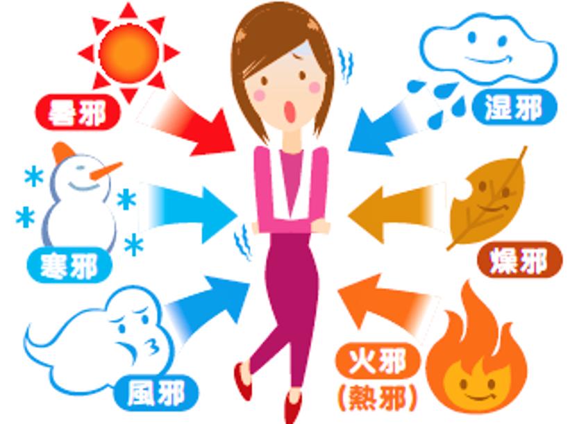 Causes externes des maladies en medecine chinoise